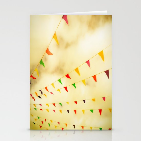 Flags & Color Stationery Card