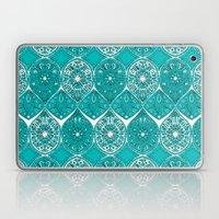 Saffreya Turquoise Laptop & iPad Skin