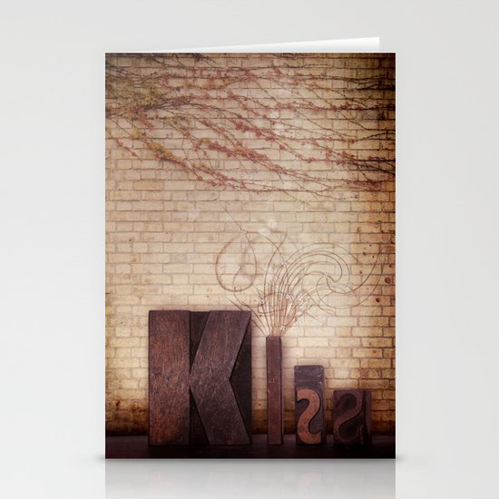 Kiss Stationery Card