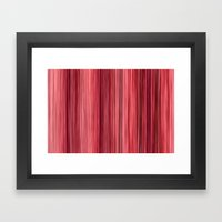 Ambient 33 in Pink Framed Art Print