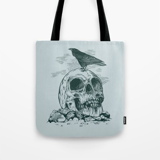 Raven's Cliff Tote Bag