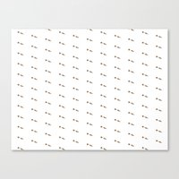 CARROT PATTERN Canvas Print