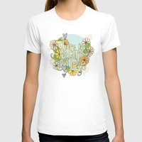 There Is No Cure For Love Womens Fitted Tee White SMALL