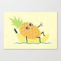 Summer Chillin Canvas Print