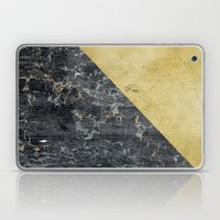 GOld Slide Laptop & iPad Skin