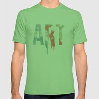 Art & Protest Mens Fitted Tee Grass SMALL