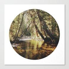 East Inlet Creek Canvas Print