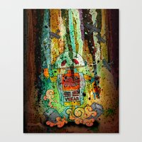 Vegan-Bot Canvas Print
