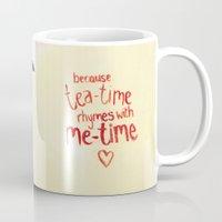 Miss Tea-Time Mug