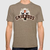General Frisco Grievous Mens Fitted Tee Tri-Coffee SMALL