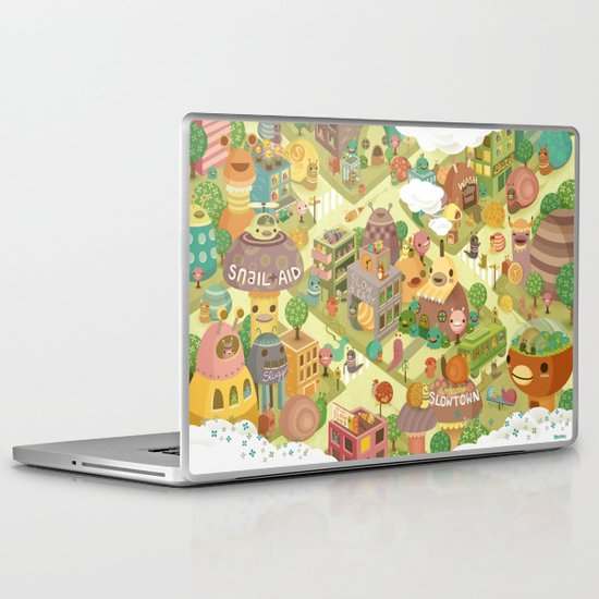 Slowtown Laptop & iPad Skin