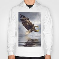Bald Eagle Swooping Hoody