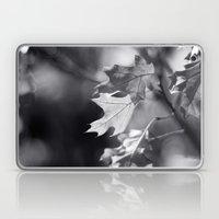 Winter Oak In Black And … Laptop & iPad Skin