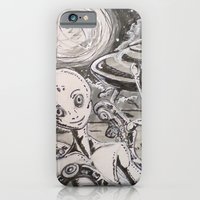 alien iPhone & iPod Cases featuring Alien by Ju.jo.weh