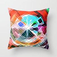 Harlekin abstrakt. Throw Pillow