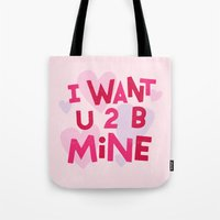 B MINE Tote Bag