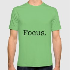 Focus Mens Fitted Tee Grass SMALL