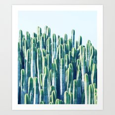 Cactus V2 #society6 #decor #fashion #tech #designerwear Art Print
