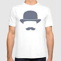 Gentleman Mens Fitted Tee White SMALL