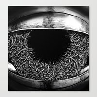 Ominous Eye Canvas Print