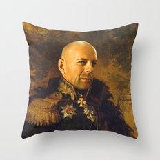 Bruce Willis - Replacefa… Throw Pillow