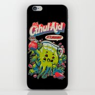 iPhone & iPod Skin featuring CTHUL-AID by BeastWreck