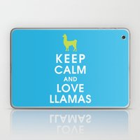 Keep Calm And Love Llama… Laptop & iPad Skin