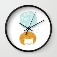now this is the life Wall Clock