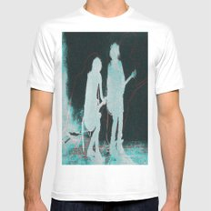 the cure Mens Fitted Tee White SMALL