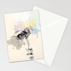 Beyond Her Tears  Stationery Cards