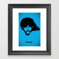 George. Framed Art Print