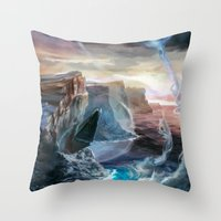 Island Throw Pillow