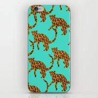 Jungle Cats iPhone & iPod Skin