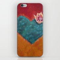 Cactus Heart iPhone & iPod Skin