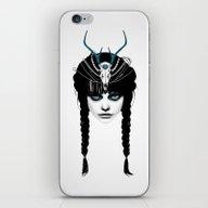 Wakeful Warrior - In Blu… iPhone & iPod Skin