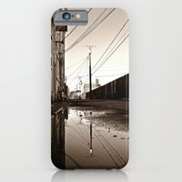 Alleyway reflection iPhone 6 Slim Case