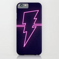 Rad Pink Neon Lightning iPhone 6 Slim Case