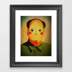 Chairmanchu Framed Art Print