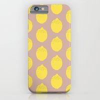 iPhone & iPod Case featuring Lemon by Grace
