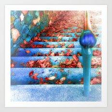 Early fall rêverie  Art Print