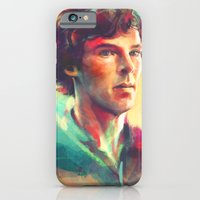 A Study in Neon iPhone 6 Slim Case