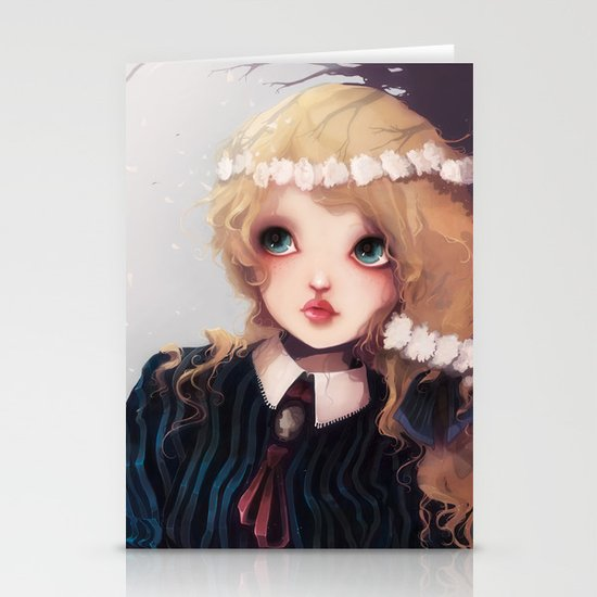 Quelque part... Stationery Card