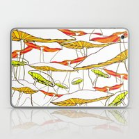 forest of the magic mushrooms Laptop & iPad Skin