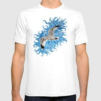 Gull Mens Fitted Tee White SMALL