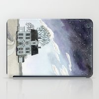 House Under The Starry S… iPad Case