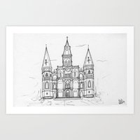St. Louis Cathedral | Ne… Art Print