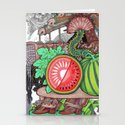 Watermelon Stationery Cards