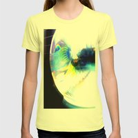 Masta Betta Womens Fitted Tee Lemon SMALL