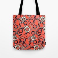 Honolulu hoopla orange Tote Bag