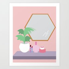 Barbi Girl Art Print